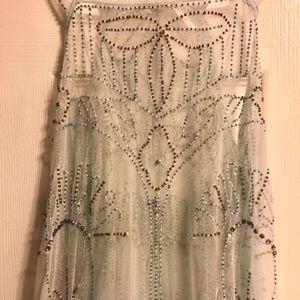Free People Dresses - Free people Art Deco maxi dress
